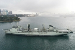 HMAS-Success-approaches-Fleet-Base-East-for-the-final-time
