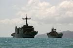 HMA Ships Kanimbla and Tobruk